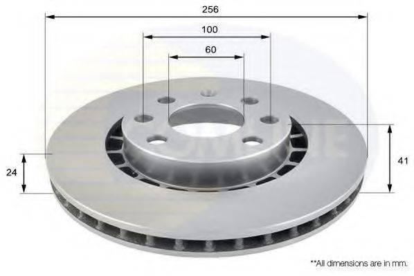 COMLINE ADC1007V Тормозной диск