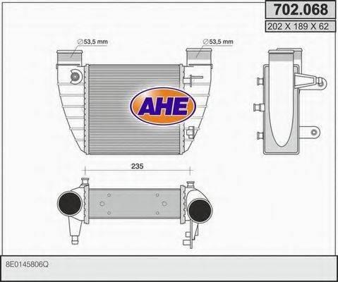 AHE 702068 Интеркулер