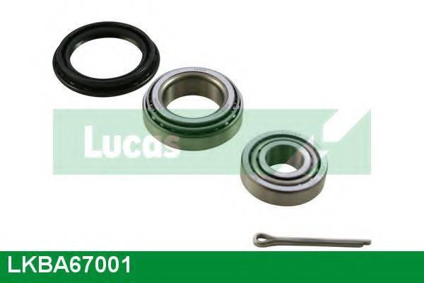 LUCAS ENGINE DRIVE LKBA67001 Комплект подшипника ступицы колеса