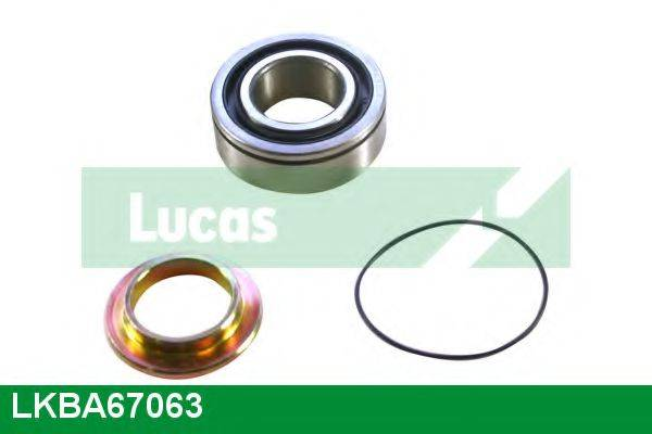 LUCAS ENGINE DRIVE LKBA67063 Комплект подшипника ступицы колеса