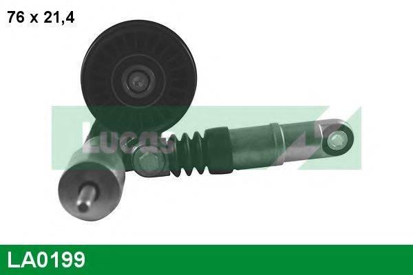 LUCAS ENGINE DRIVE LA0199 Натяжной ролик, поликлиновой  ремень