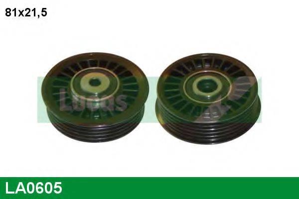 LUCAS ENGINE DRIVE LA0605 Паразитный / ведущий ролик, поликлиновой ремень