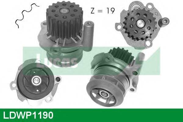 LUCAS ENGINE DRIVE LDWP1190 Водяной насос