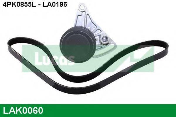 LUCAS ENGINE DRIVE LAK0060 Поликлиновой ременный комплект
