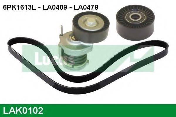LUCAS ENGINE DRIVE LAK0102 Поликлиновой ременный комплект