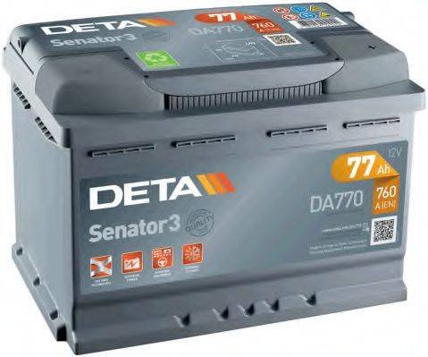 DETA DA770 Стартерная аккумуляторная батарея; Стартерная аккумуляторная батарея