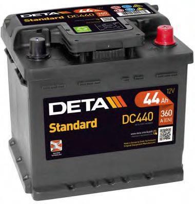 DETA DC440 Стартерная аккумуляторная батарея; Стартерная аккумуляторная батарея