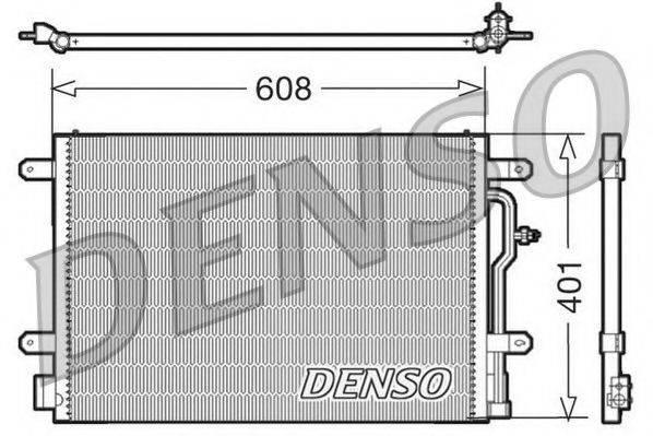 NPS DCN02012 Конденсатор, кондиционер