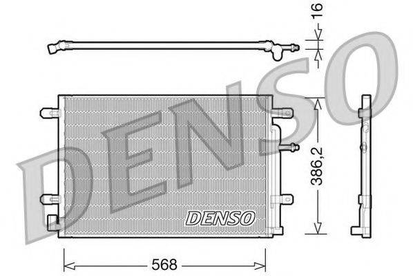 NPS DCN02018 Конденсатор, кондиционер