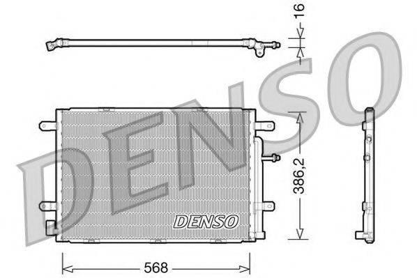 NPS DCN02019 Конденсатор, кондиционер