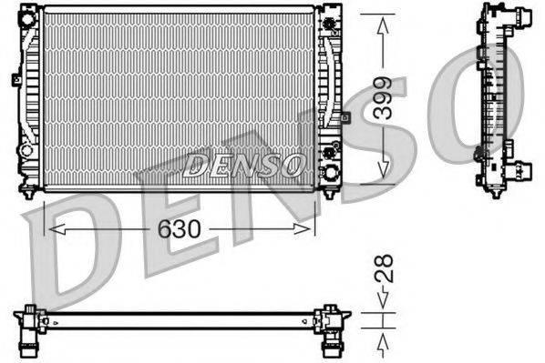 NPS DRM02031 Радиатор, охлаждение двигателя
