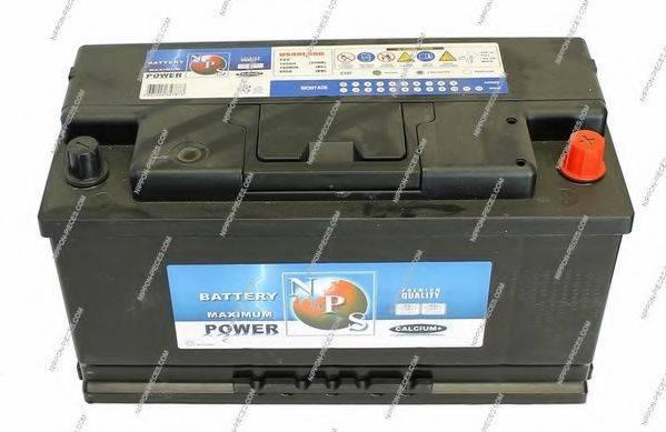 NPS U540L59B Стартерная аккумуляторная батарея