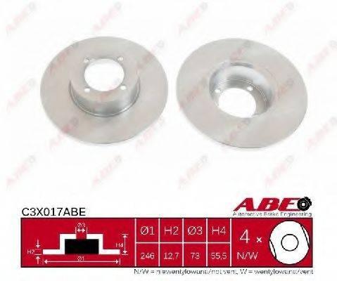 ABE C3X017ABE Тормозной диск