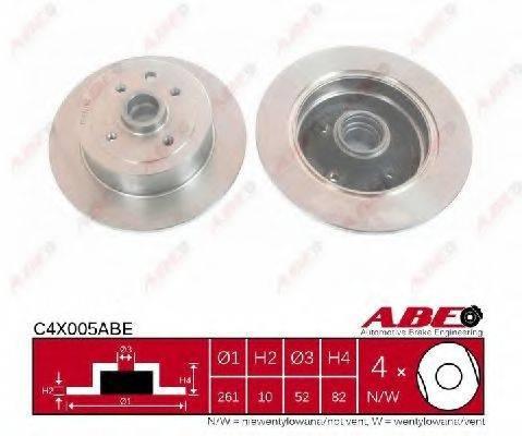 ABE C4X005ABE Тормозной диск