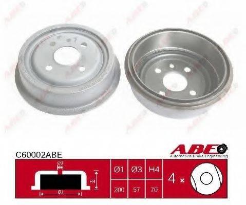 ABE C60002ABE Тормозной барабан