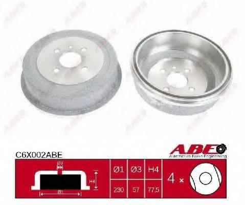 ABE C6X002ABE Тормозной барабан