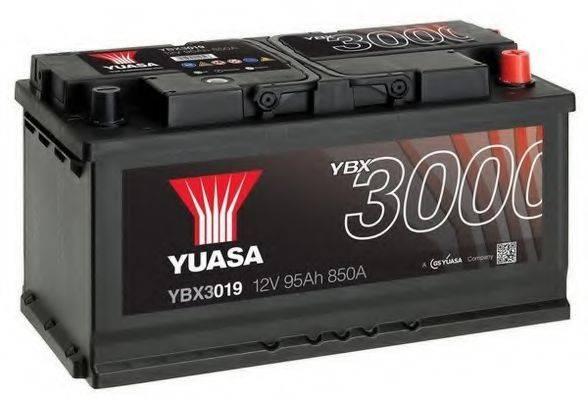 YUASA YBX3019 Стартерная аккумуляторная батарея