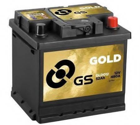 GS GLD012 Стартерная аккумуляторная батарея