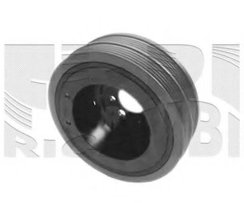 KM INTERNATIONAL FI16280 Ременный шкив, коленчатый вал