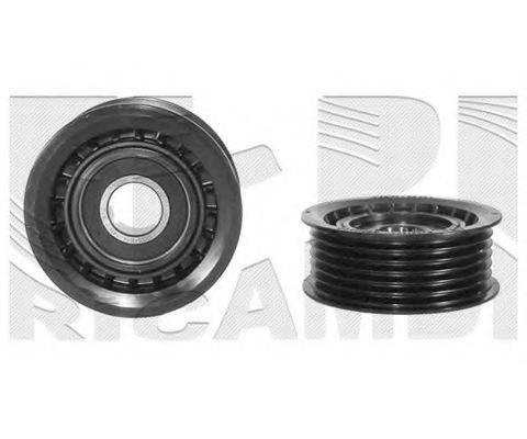 KM INTERNATIONAL FI5550 Натяжной ролик, поликлиновой  ремень