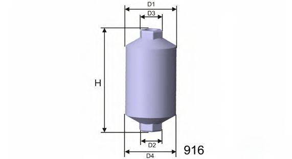 MISFAT E511 Топливный фильтр