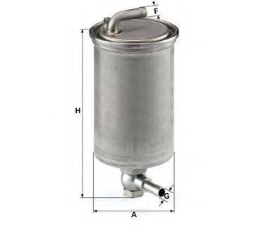 UNICO FILTER FI818617 Топливный фильтр