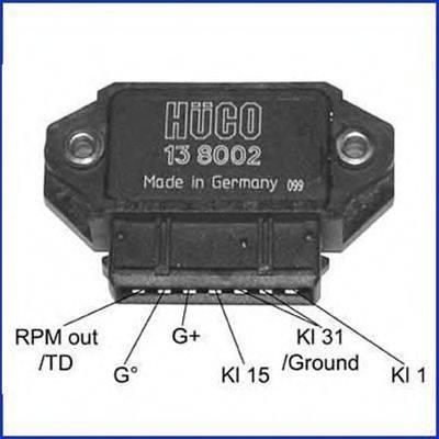 HITACHI 138002 Коммутатор, система зажигания