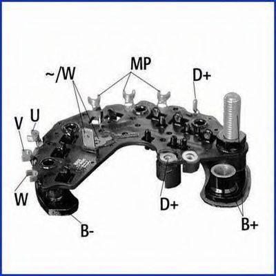 HITACHI 139695 Выпрямитель, генератор