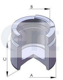 ERT 150291C Поршень, корпус скобы тормоза