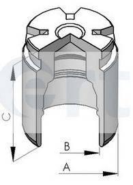 ERT 150523C Поршень, корпус скобы тормоза