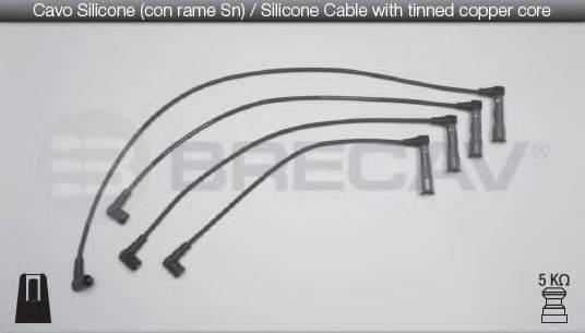 BRECAV 01530 Комплект проводов зажигания