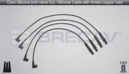 BRECAV 01531 Комплект проводов зажигания