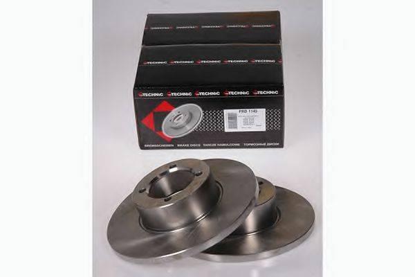 PROTECHNIC PRD1145 Тормозной диск