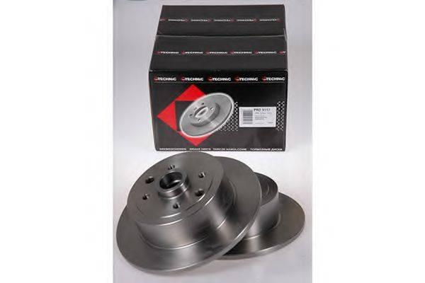 PROTECHNIC PRD5117 Тормозной диск