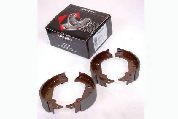 PROTECHNIC PRS0083 Комплект тормозных колодок
