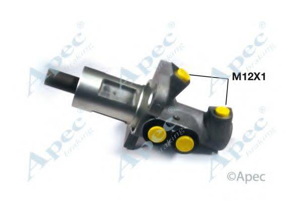 APEC BRAKING MCY334 Главный тормозной цилиндр