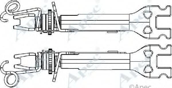 APEC BRAKING ADB3021 Система тяг и рычагов, тормозная система