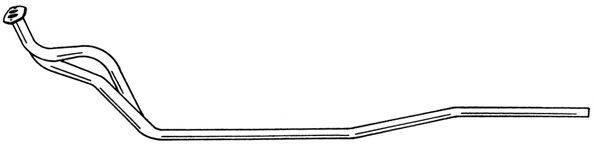 SIGAM 40128 Труба выхлопного газа