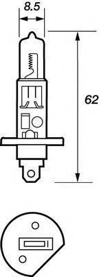 MOTAQUIP VBU448 Лампа накаливания, фара дальнего света; Лампа накаливания, основная фара; Лампа накаливания, противотуманная фара; Лампа накаливания, задняя противотуманная фара