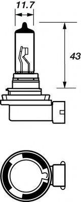 MOTAQUIP VBU911 Лампа накаливания, фара дальнего света; Лампа накаливания, основная фара; Лампа накаливания, противотуманная фара