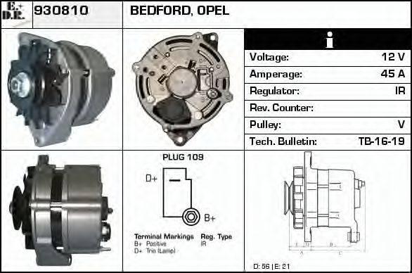 EDR 930810 Генератор