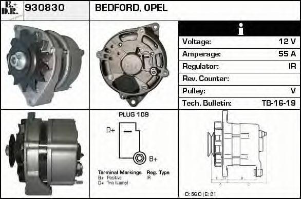 EDR 930830 Генератор