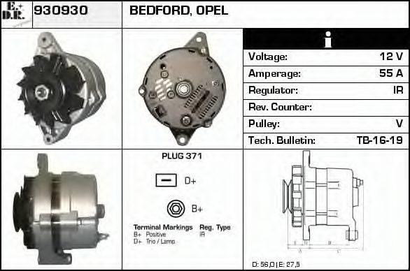 EDR 930930 Генератор