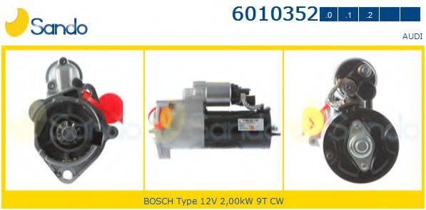 SANDO 60103520 Стартер