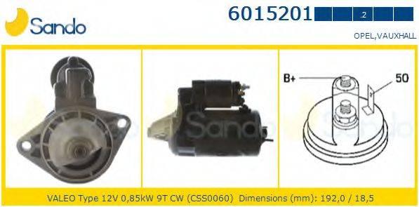 SANDO 60152012 Стартер