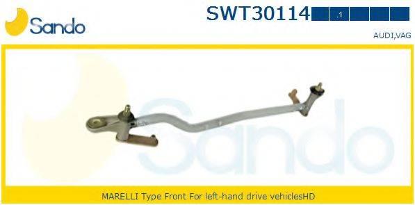 SANDO SWT301141 Система тяг и рычагов привода стеклоочистителя
