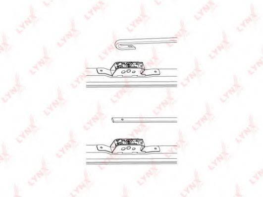 LYNXAUTO LW450 Щетка стеклоочистителя