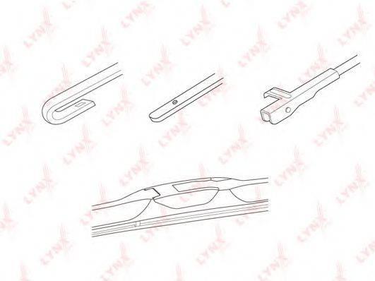 LYNXAUTO LX450 Щетка стеклоочистителя