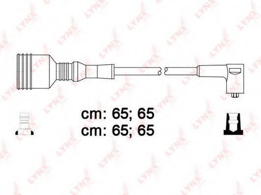 LYNXAUTO SPC1005 Комплект проводов зажигания