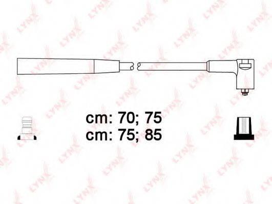 LYNXAUTO SPC1006 Комплект проводов зажигания